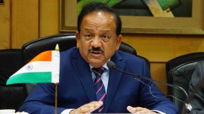 Country reaches third place in list of corona, but situation is better than the world: Dr. Harsh Vardhan