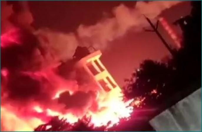 विशाखापत्तनम में फार्मा कंपनी में लगी आग, घायल हुआ कर्मचारी