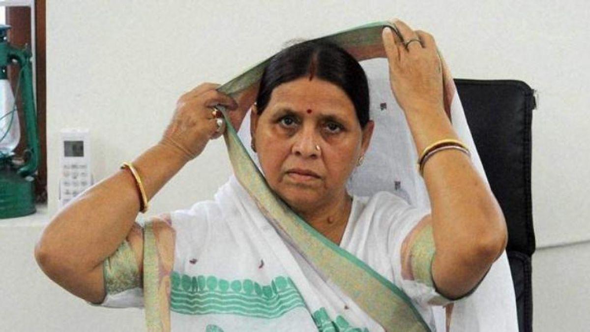 politics has intensified over the floods in Bihar, Rabri Devi targets Nitish Kumar