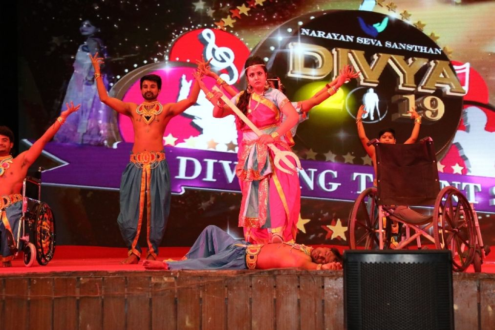 Handicapped models to perform on stage at Talent Show organised by Narayan Seva