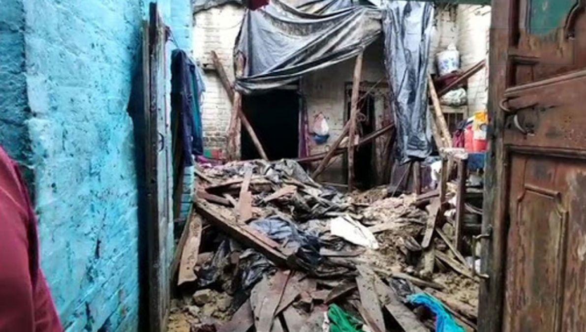 मुरादाबाद में काल बनकर आई बारिश, कच्चा मकान गिरने से 2 बच्चों की मौत