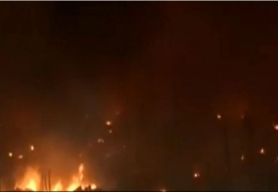 Massive fire breaks out at Shahbad dairy area in Delhi, 70 slums burnt to ashes