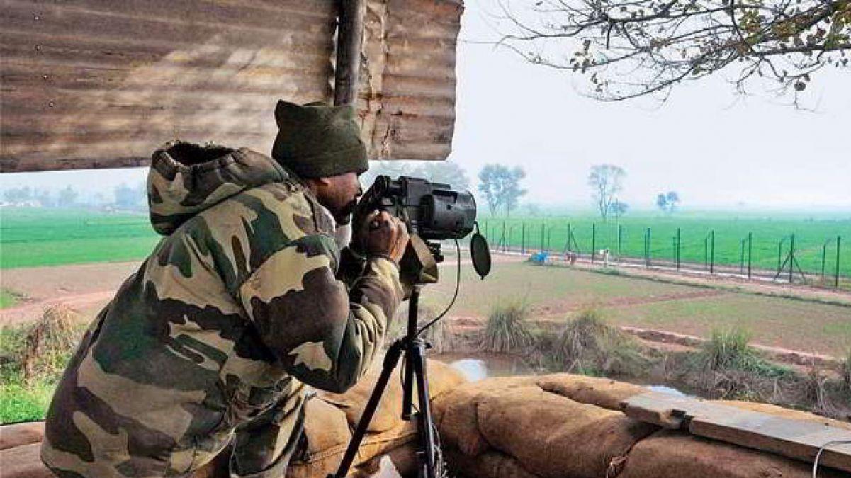 बॉर्डर से सटी सड़कों के जरिए घुसपैठ करने की फ़िराक में पाक, BSF अलर्ट