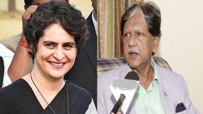 Former PM Lal Bahadur Shastri's son's big statement, says Priyanka to be made Congress president