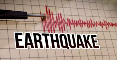 The earthquake jolts many parts of the country
