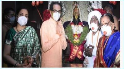 CM Uddhav Thackeray worships Lord Vitthal with wife on Devshayani Ekadashi