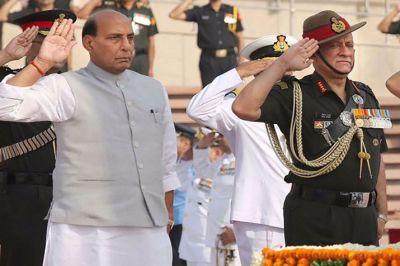 Defence Minister Rajnath Singh to visit Jammu & Kashmir today