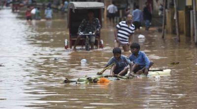Rain lashes several parts of country disrupting normal life