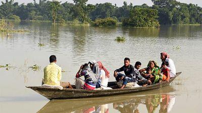 Floods wreak havoc in Bihar-Assam, death Toll Approaches 159