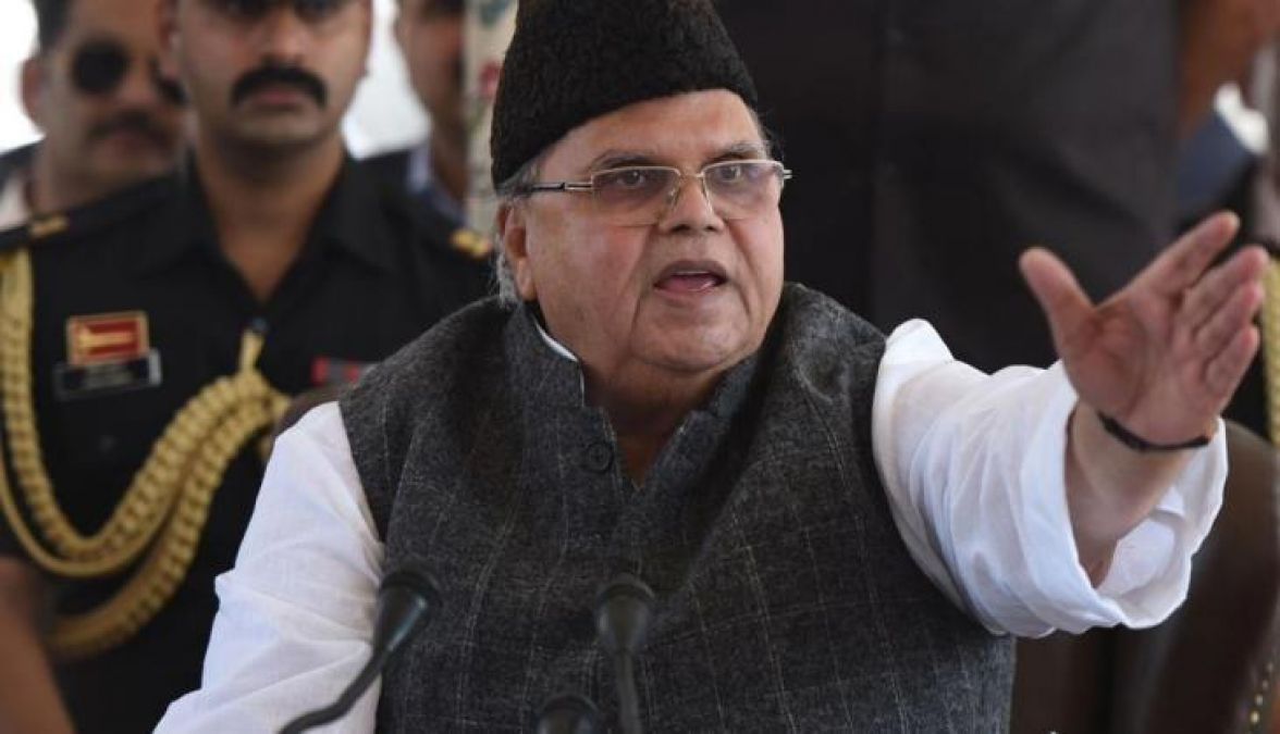 J&K Governor's Controversial Speech, said this on corrupt officers