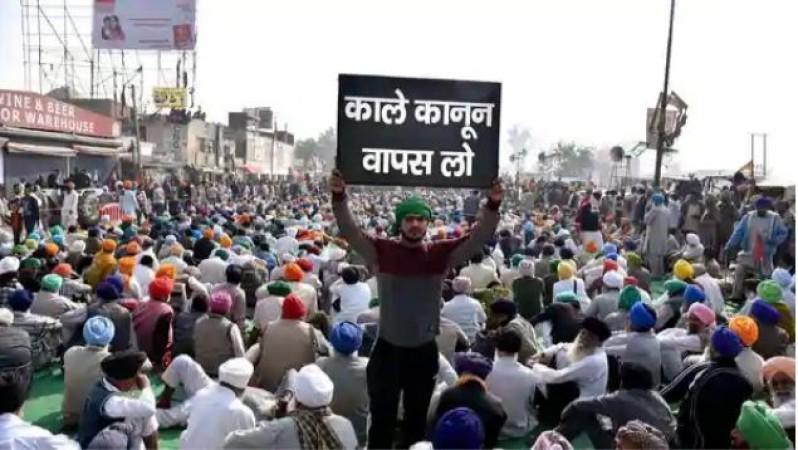 किसान आंदोलन: जंतर-मंतर पर किसानों का प्रदर्शन, छावनी में तब्दील हुआ इलाका