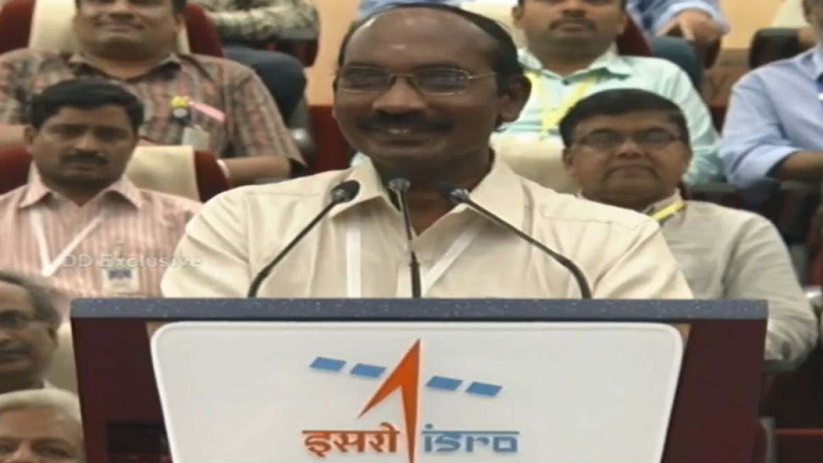 चंद्रयान-2 की लॉन्चिंग पर बोले इसरो चीफ कहा- यह चांद की तरफ भारत का ऐतिहासिक कदम