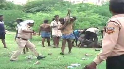 Police protection to pig catchers ? know why this happening