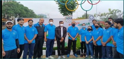 Bhopal ran to cheer for nation in Tokyo, VD Sharma reached Cheer for India Run