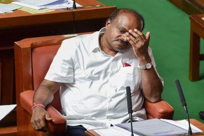 कर्नाटक में गिरी कुमारस्वामी की सरकार, भाजपा पेश करेगी दावा