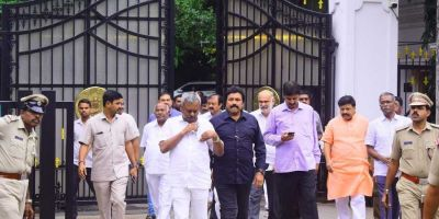 Karnataka crisis: Rebel MLAs in Mumbai to return after BJP's government formed
