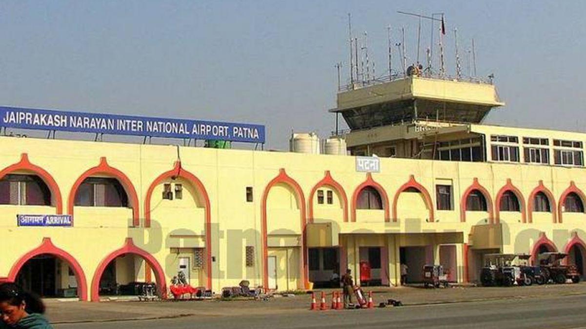 देशी कट्टा छिपाकर दिल्ली ले जा रहा था मोहम्मद एजाज, पटना एयरपोर्ट पर पकड़ाया