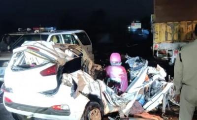 Tragic Accident! CM Shivraj expresses grief over death of 4 people on Bhopal-Hoshangabad Road