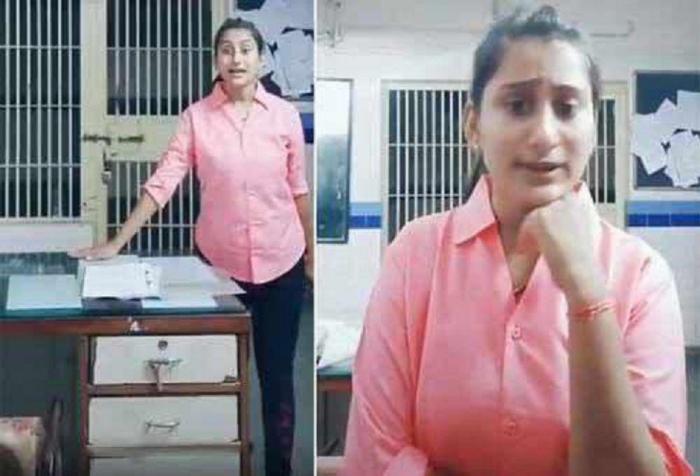 Tik Tok पर डांस वीडियो डालना महिला पुलिसकर्मी को पड़ा महंगा, हुई ससपेंड