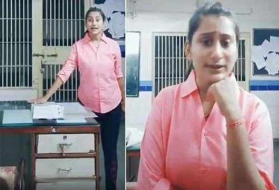 Lady police suspended for uploading  dance video on Tik Tok, know the whole matter