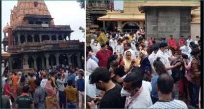 Ujjain: MP devotees not afraid of third wave, CM Shivraj doesn't matter either!
