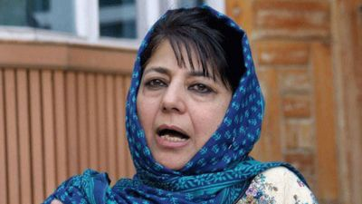 Mehbooba Mufti says people are panic due to additional security forces deployed in Kashmir