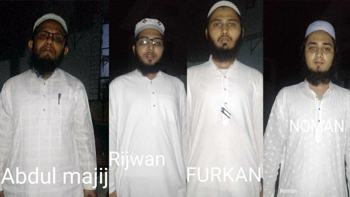 मदरसे में अवैध रूप से रह रहे थे 4 संदिग्ध, 3 शिक्षकों सहित सभी गिरफ्तार