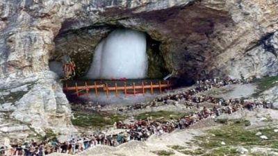 अमरनाथ यात्रा अपने चरम पर, अब तक 3.20 लाख से अधिक भक्तों ने किए बाबा बर्फानी के दर्शन
