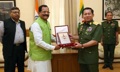 भारत और म्यांमार ने रक्षा सहयोग समझौते पर हस्ताक्षर किए