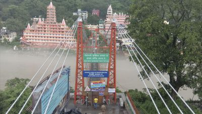 Rishikesh: After the closure of Laxman swing, the local market turns silent...