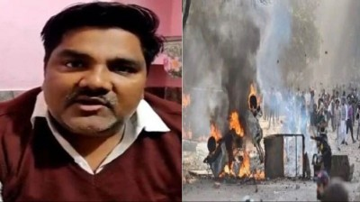 Big action in Delhi riot case, Crime branch file charge sheet against Tahir Hussain