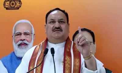 JP Nadda praises Gopinath Munde in a program in Maharashtra