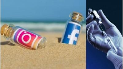 Facebook and Instagram delete PIB factcheck post on Covid vaccine