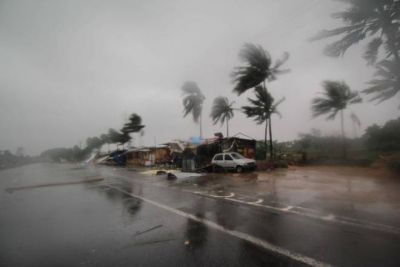 Sudden weather change in several cities of Chhattisgarh, heavy rain with windstorm