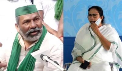 Mamata Didi stepping into outside politics, Rakesh Tikait to meet Didi on June 9