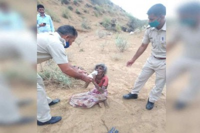 5-year-old innocent breaks down due to lack of water in Jalore, elderly grandmother faints