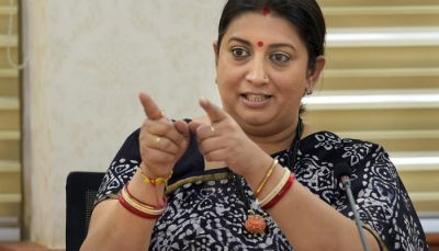 Union Minister Smriti Irani comes in support of Dhoni over gloves controversy