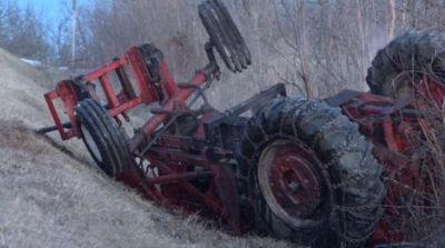 Three killed in Tractor trolley clash