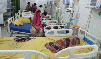 यूपी के कई जिलों में अब भी जारी है बच्चों पर चमकी बुखार का कहर