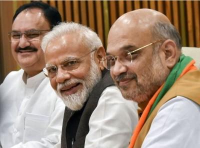BJP again tops the list in receiving donations, got 750 crores in 2019-20