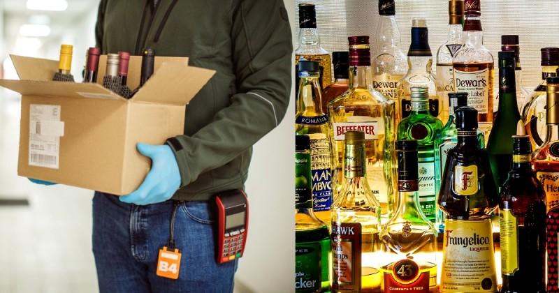 बड़ी खबर: शुरू हुई शराब की होम डिलेवरी