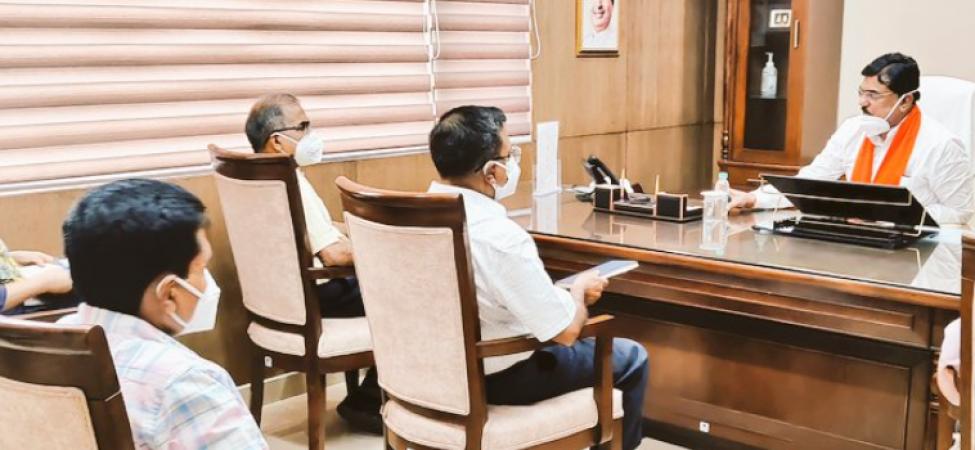MP: खरीफ फसलों की बुआई को लेकर कृषि विकास मंत्री कमल पटेल ने की समीक्षा बैठक