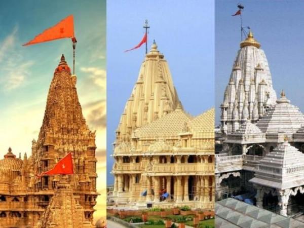 61 दिन बाद भक्तों के लिए खुला सोमनाथ मंदिर, द्वारका-पावागढ़ में भी शुरू हुए दर्शन