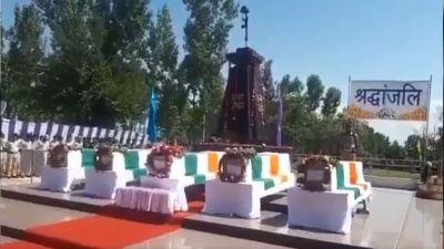 final farewell to the Martyrs of Anantnag Fidayeen attack in Srinagar