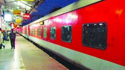Fire breaks out in Rajdhani Express