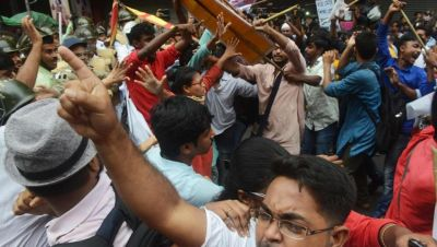 Political Violence continues in Bengal, clashes between BJP and TMC workers