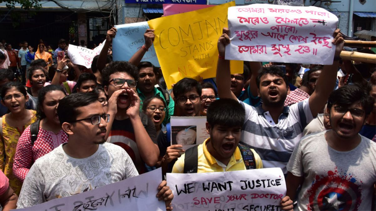 Mamata and the doctors dispute intensified, the whole country's doctors are on strike