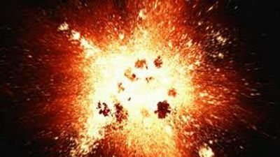 Two children injured due to bomb blast in the forest