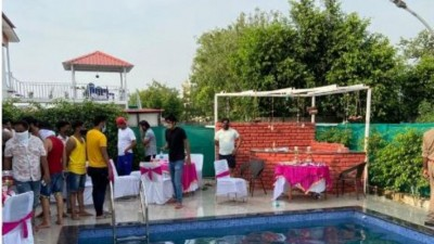 UP: 60 youths arrested for pool party in lockdown
