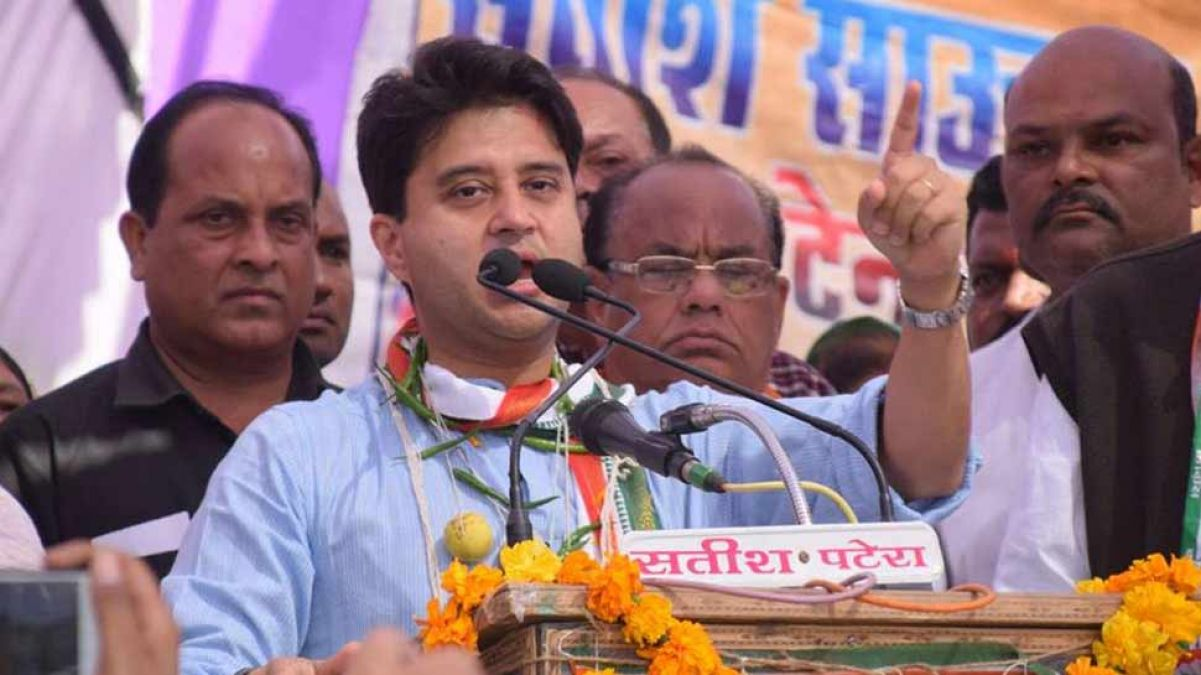 UP assembly elections to be contested on their own by Congress - Jyotiraditya